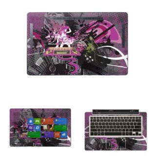 "Decalrus   Decal Skin Sticker for ASUS Transformer Book TX300CA with 13.3"" Touchscreen notebook tablet (NOTES Compare your laptop to IDENTIFY image on this listing for correct model) case cover wrap asusTX300CA 292 Electronics"