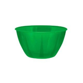 NorthWest Enterprises N244813 High Quality Plastic Small Serving Bowl, 24 Ounce Capacity, Green (Case of 48)