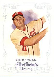 2013 Topps Allen and Ginter Trading Card # 299 Ryan Zimmerman Washington Nationals Sports Collectibles