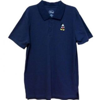 Disney Men's Mickey Mouse Polo Shirt at  Men�s Clothing store