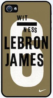 Lebron James Rubber Nike Logo case cover for iphone 4 4s Cell Phones & Accessories