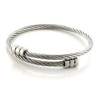 Wire Stainless Steel Bangle Bangle Bracelets Jewelry