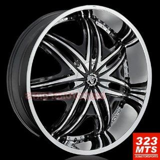 "Diablo Morpheus 28"" Hummer H2 Chrome Wheels & Lexani 325/35/28 Tires 4pc  1set Automotive"