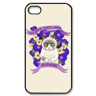 Tard the Grumpy Cat Case for Iphone 4/4s Petercustomshop IPhone 4 PC01459 Cell Phones & Accessories
