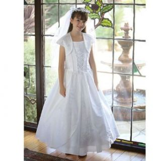 Angels Garment Girls Lady of Guadalupe First Communion Dress 7 14.5 Angels Garment Clothing