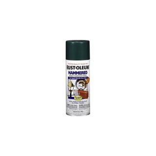 RustoleumStopsRust Deep Green Hammered Enamel Aerosol Spray Paint 7211 830  (Set of 6) Other Home Improvement