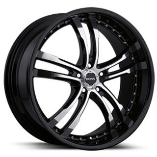 "Boss Motorsports 337 Black Wheel (22x9""/5x120mm) Automotive"