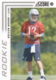 2012 Panini Score Football #341 Kellen Moore RC Detroit Lions NFL Rookie Trading Card Sports Collectibles