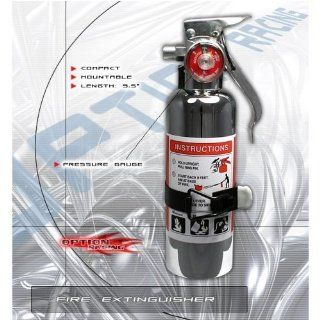 Fire Extinguisher Chrome Gauge Porsche 356 550 911 912 914 924 928 944 959 966 968 Boxster Carrera Carrera Gt Cayenne Cayman Rover Mini Saab 9 2x 9 3 9 5 9 7x 900 9000 99 Saturn ION Sc series Sky Scion Tc Automotive