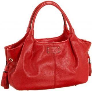 Kate Spade Macdougal Alley Stevie Satchel, Garnet, one size Satchel Style Handbags Shoes