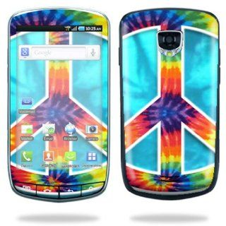 Protective Vinyl Skin Decal Cover for Samsung Droid Charge 4G LTE Cell Phone Sticker Skins   Peace Out Cell Phones & Accessories