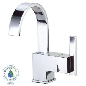 Danze Sirius 4 in. Single Handle Bathroom Faucet in Chrome with Side Handle D221544