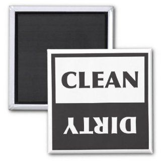 Dishwasher Clean or Dirty Sign Fridge Magnet Kitchen & Dining