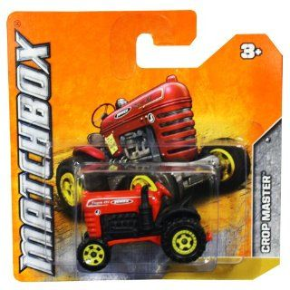 Matchbox Diecast Car Crop Master Tractor (Red) Jones Super 420 Toys & Games