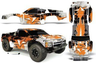 Chevy Silverado 1500 PRO LINE Traxxas Slash PRO3307 60 AMRRACING RC Graphics Kit Street Star Orange Toys & Games