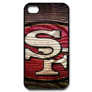 WY Supplier NFL San Francisco 49ers Team Printed Case Cover for Apple Iphone 4 4S Case WY Supplier 148148  Sports Fan Cell Phone Accessories  Sports & Outdoors