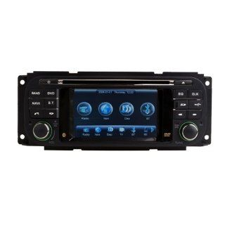 In Dash Car DVD Player GPS Radio System For Chrysler Concorde / LHS / Pacifica / PT Cruiser/Sebring / Town & Country  Vehicle Dvd Players