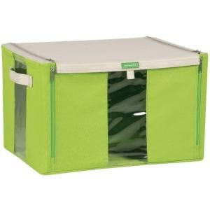 Lock and Lock Living Box with Straight Zipper in Green DISCONTINUED LLB221G