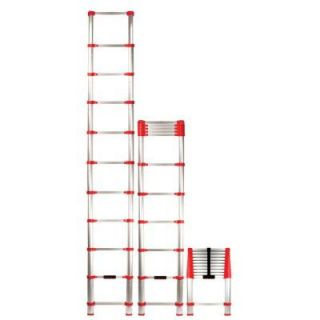 Xtend & Climb 10.5 ft. Telescoping Aluminum Extension Ladder with 225 lb. Load Capacity Type II Duty rating 760P