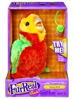 Fur Real Friends Collectible Bird   Green/Orange Toys & Games