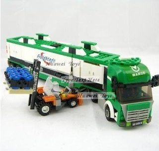 Wange High Quality Blocks Truck Series 463 Pcs Lego Compatible 040616 in Huge Gift Box Toys & Games