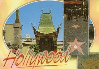 GRAUMAN'S CHINESE THEATRE LAC 1202 MICHAEL JACKSON STAR POSTCARD IS ONE OF THE TOP TOURIST DESTINATIONS FOR ANYONE VISITING SOUTHERN CALIFORNIA   From Hibiscus Express