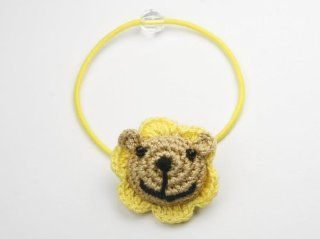 Lion King   Crochet Animal Baby Girl & Toddler Hairband / Ponytail Holder  Infant And Toddler Hair Accessories  Baby