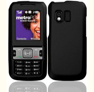 Black Hard Case Cover for Samsung Messager R450 R451C R451 C Cell Phones & Accessories