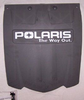 Genuine Polaris Snowmobile Sled Accessories / Gray IQ RMK Fusion Snow Flap / Part # 2875078 453  Sports & Outdoors