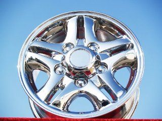 Lexus LX470 Set of 4 genuine factory 16inch chrome wheels Automotive