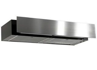 "Imperial 3042SD4 WH White Under Cabinet 430 CFM 42"" Wide Flush Mount Under Cabinet Range Hood with Air Ring Fan with Wood Front Ready Front Panel from the 3000 Collection"