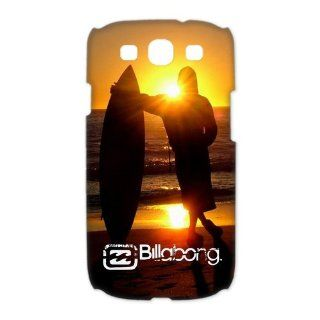 Custom Billabong 3D Cover Case for Samsung Galaxy S3 III i9300 LSM 473 Cell Phones & Accessories