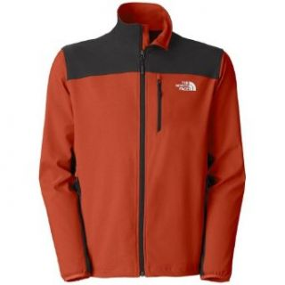 The North Face Nimble Jacket   Soft Shell X Large Red Clay/Asphalt Grey  Skiing Jackets  Clothing