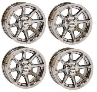 "STI HD2se ATV Wheels/Rims iChrome 14"" Kawasaki Teryx Mule (4) Automotive"