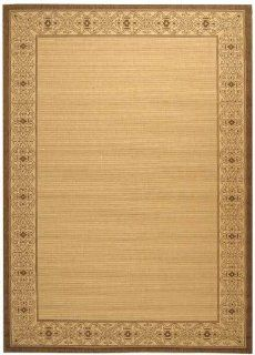 Safavieh Courtyard Collection CY2099 3001 Natural and Brown Indoor/ Outdoor Area Rug, 8 Feet by 11 Feet 2 Inch