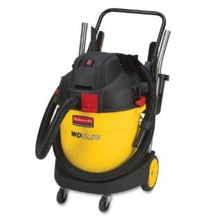 Rubbermaid Heavy duty Wet/dry Vacuum Wet/Dry Vacuum, Heavy Duty, 12 1/2 Gallon Tank, Black/Yellow   Shop Wet Dry Vacuums
