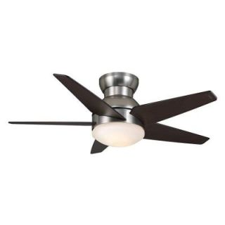 Casablanca Isotope 44 in. Direct Touch Brushed Nickel Ceiling Fan 59019