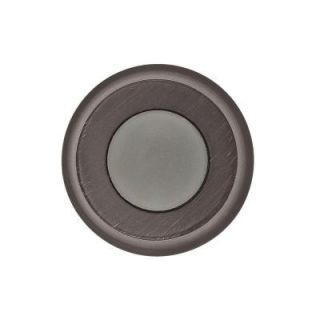 Baldwin 1 in. Venetian Bronze Convex Wall Mounted Door Stop 9BR7006 001