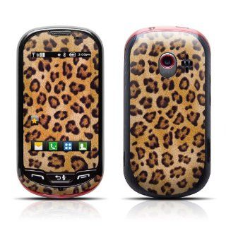 Leopard Spots Design Protective Skin Decal Sticker for LG Extravert VN271 Cell Phone Cell Phones & Accessories