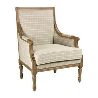 Home Decorators Collection Marie Natural Grid Arm Chair 0280600910