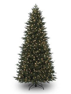 7.5' Natural Cut Grand Spruce Pre Lit Artificial Christmas Tree Clear F5 LED Lights   475 lights   1405 tips