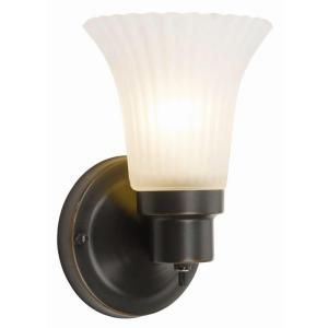 Design House 1 Light Oil Rubbed Bronze Vanity Wall Sconce 505115