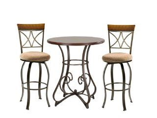 Powell 697 404M1 Hamilton Pub Set, 3 Piece   Dining Room Sets
