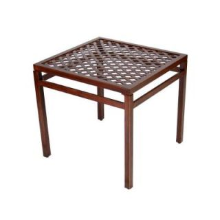 Hampton Bay Morgan Classic Patio End Table DISCONTINUED THD0107