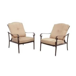 Hampton Bay Eastham Patio Lounge Chair (2 Pack) 754.000.001