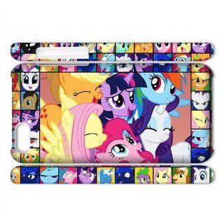 Vcapk Cartoon My Little Pony Friendship Is Magic 3D Apple iPhone 5C Hard Plastic Phone Case Cell Phones & Accessories