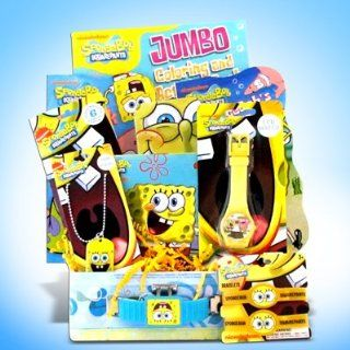 Spongebob Kids Gift Baskets Great for Birthday, Get Well Gifts for Children Toys & Games