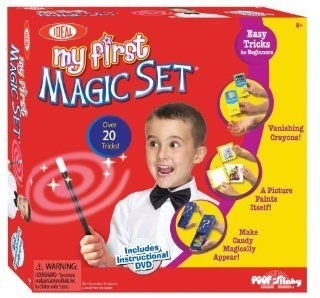 POOF Slinky 0C486BL Ideal My First Magic Set with Instructional DVD Toys & Games