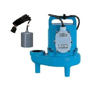 "1.25"" 1/2 HP ""Dominator"" Submersible Sewage Ejector Pump Volts / Cord Length 115 Volts / 15' Cord / UL/CSA Certified   Sump Pumps"