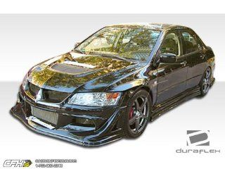 2003 2006 Mitsubishi Lancer Evolution 8 9 Duraflex Vader Front Bumper Cover   1 Piece (Clearance) Automotive